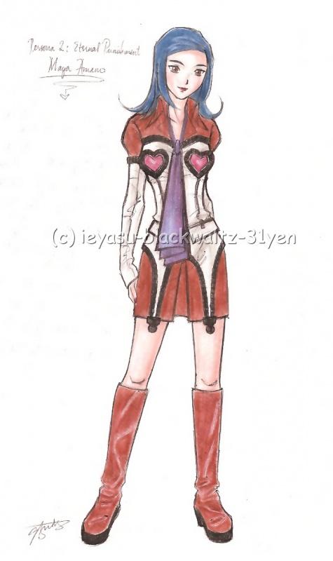 """Maya Amano AKA Big Sis #4"" by ieyasu"