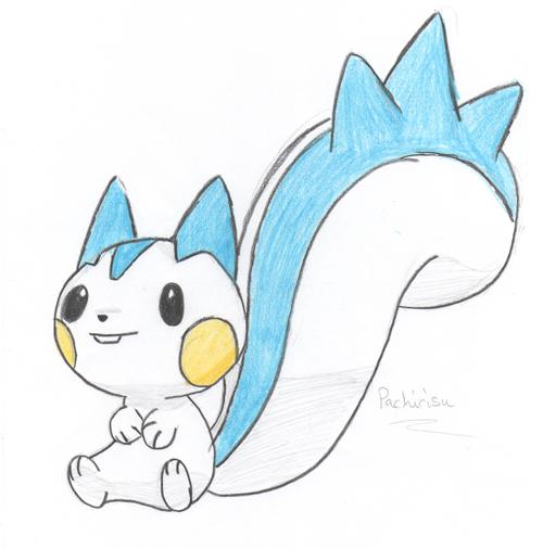 Updated Pachirisu Sketch