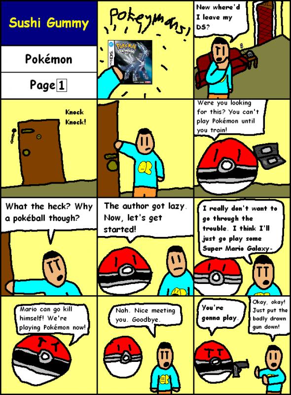 Pokémon Page 1