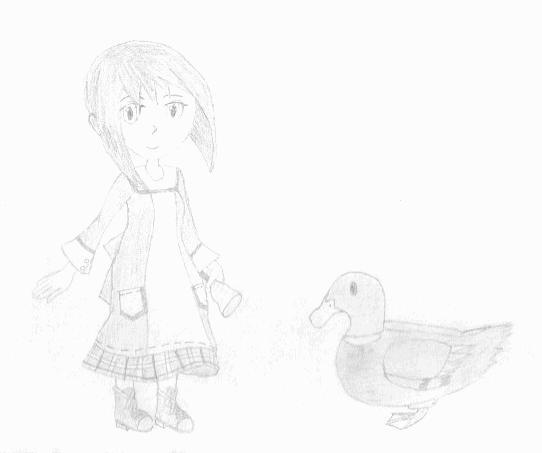 Renee & her ducky