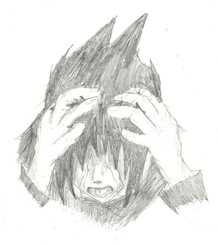 Kid Sasuke Crying