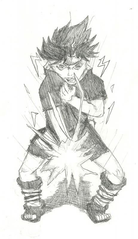 Sasuke Raging Chidori