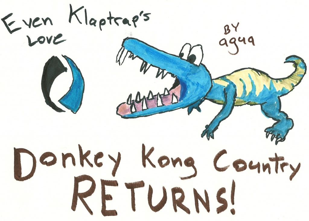 """Donkey Kong Country Returns - Klaptrap"" by Agua"