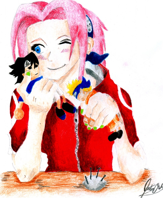Sakura and Voodoo Dolls