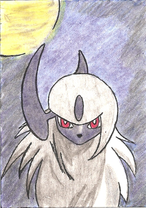 """Absol Card"" by ariaofsorrow"