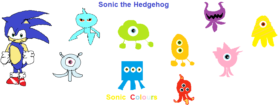 Sonic and Wisps