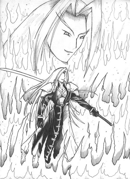 Sephiroth~ Flames