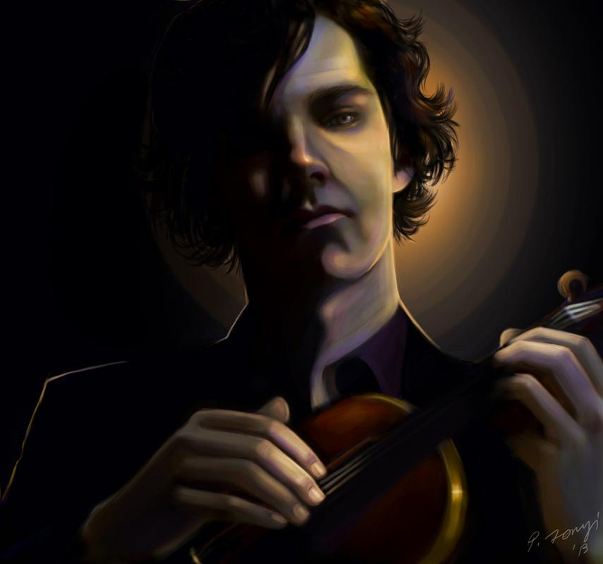 """Sherlock Holmes"" by athariell"