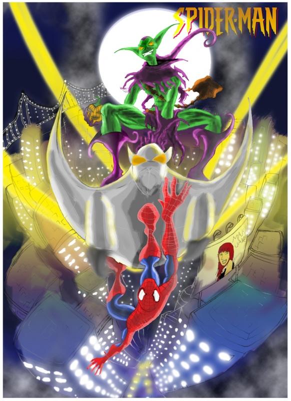 Spider-man vs Green Goblin: NEXT