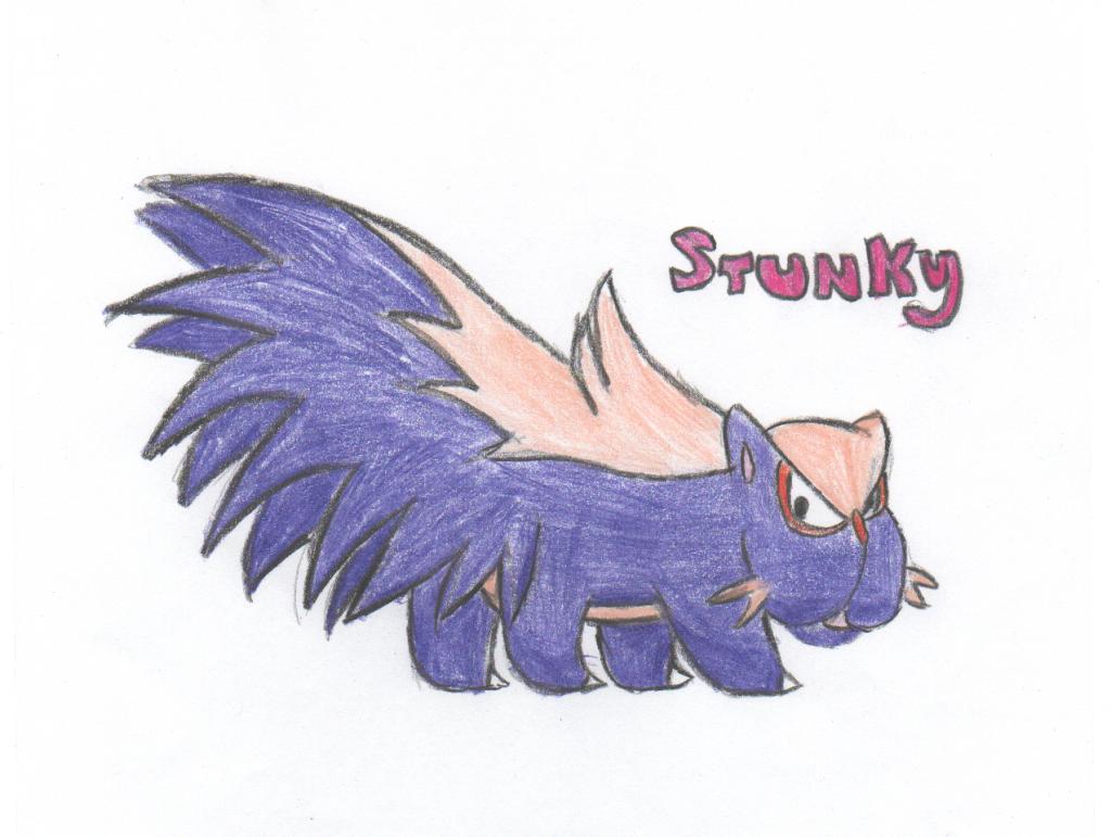 Stunky Sketch