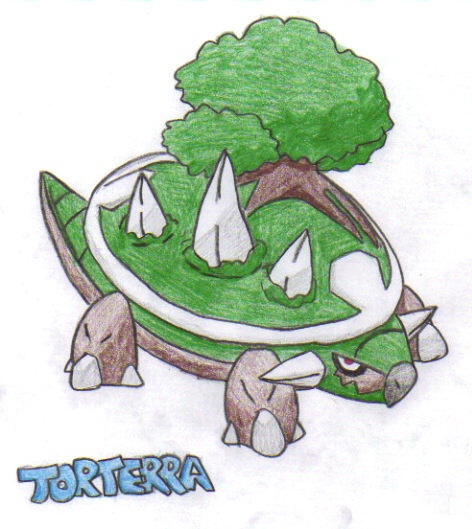 """Torterra"" by Lauzi"