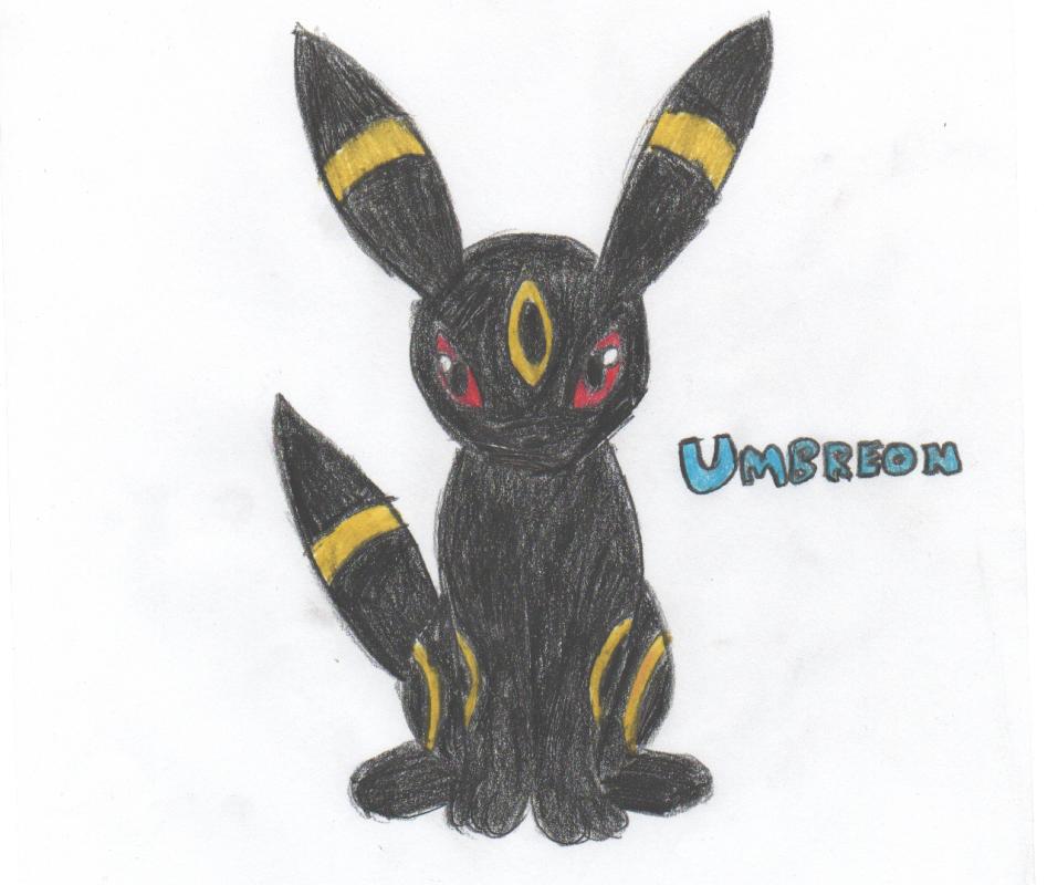 Umbreon Sketch