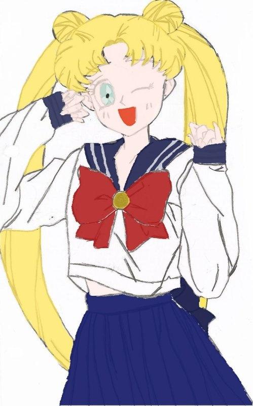 Usagi Tsukino (Color)