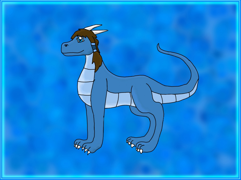 Korra as a Dragon