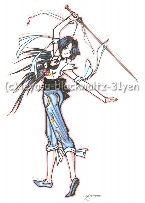 Xianghua, from the original Soul Calibur