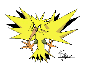 """Zapdos"" by foge"