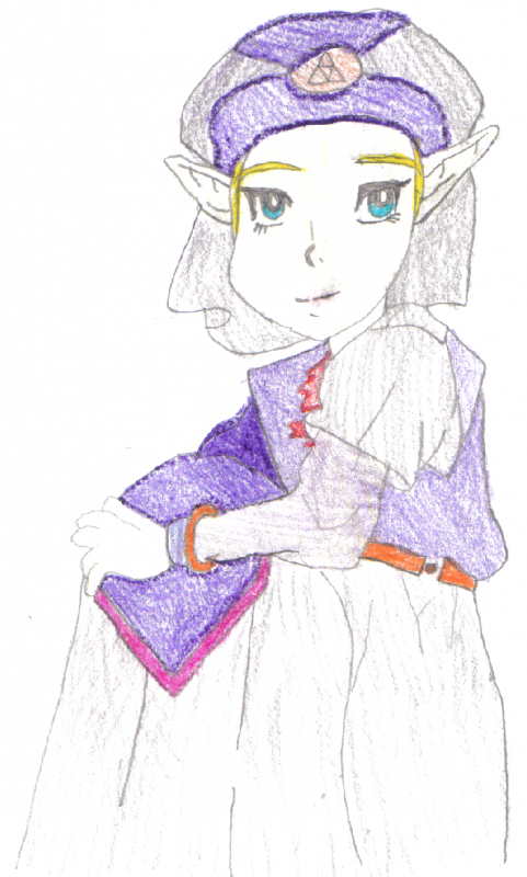 """Princess Zelda"" by WhisperintheWind"
