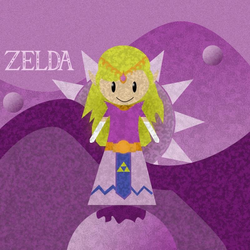 Zelda With Overused Effects.