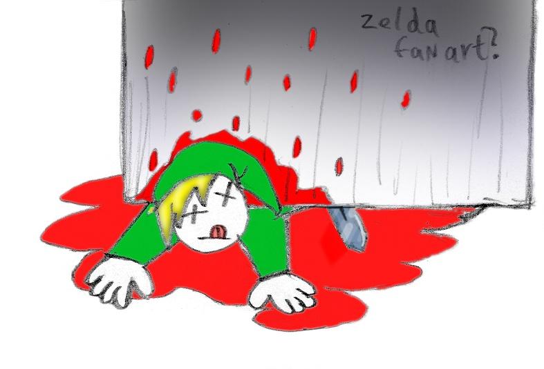 Zelda fan art?