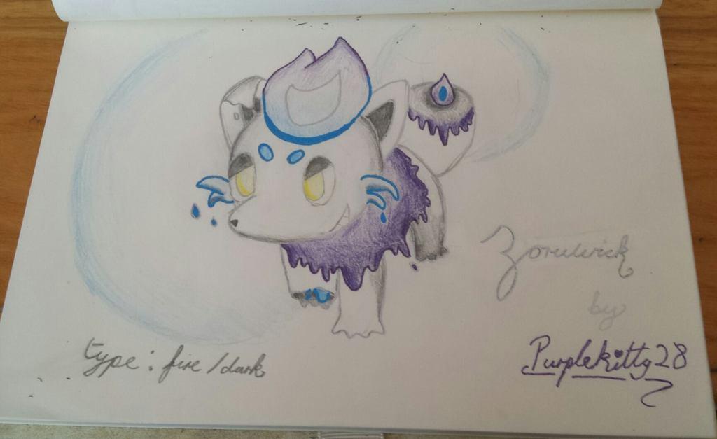 Zoruwick - Pokemon Fusion