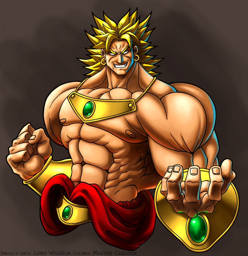 dragon ball z broly. Original