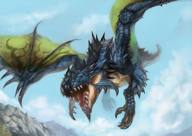 azure rathalos from mhdude hosted by neoseeker