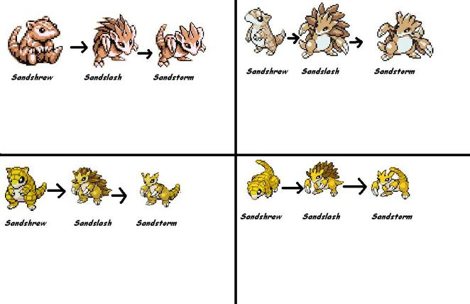 Pokemon Go Sandshrew Evolution Images | Pokemon Images