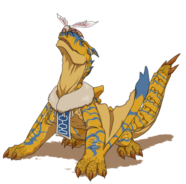 M Tigrex tigrex being cute♥ f...