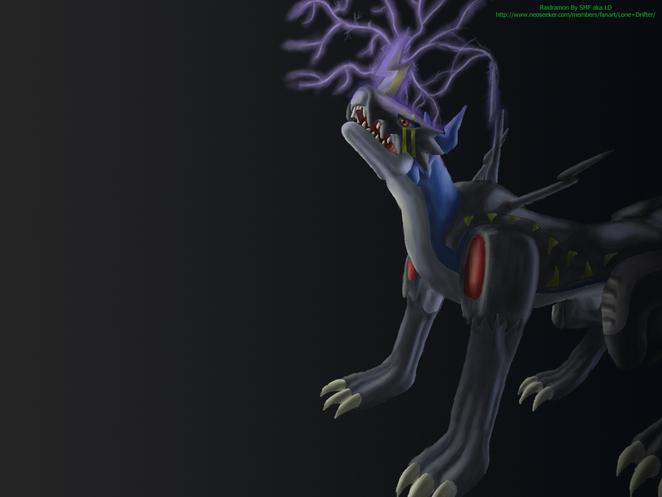raidramon - ライドラモン