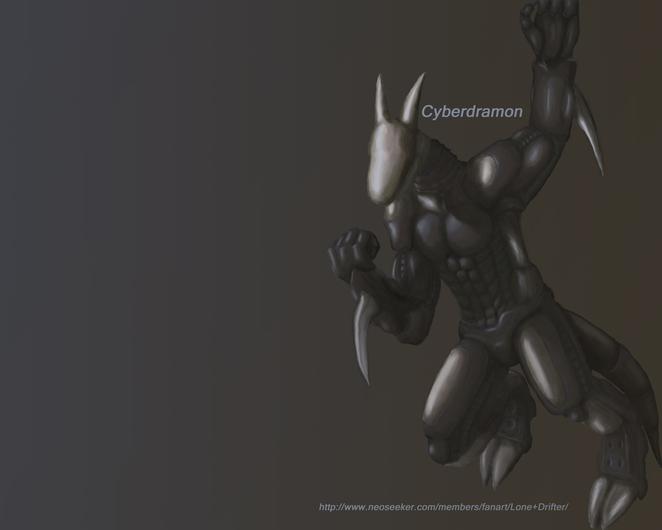 Cyberdramon - サイバードラモン