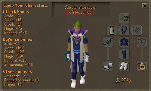 runescape melee outfit