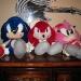 Sonic plushies!
