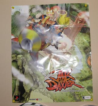 Jak and Daxter poster.