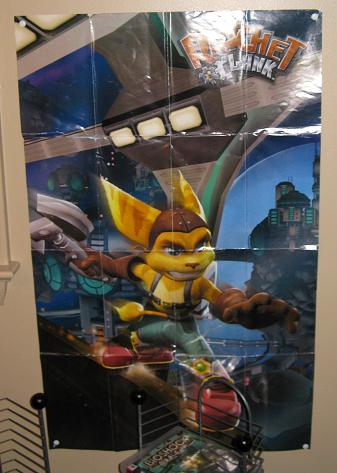 Ratchet and Clank Poster!  My favorite series!