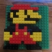 Mario made out of Legos