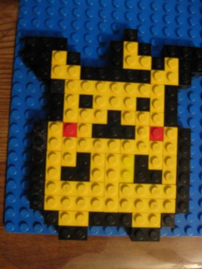 Pikachu Lego Mosaic!