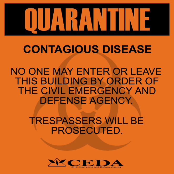 laws on contagious disease quarantine General laws ars § 36-624 after an investigation, if it is determined that a disease exists within the jurisdiction, the county health department may adopt isolation and quarantine measures consistent with adhs rules and ars §§ 36-788 and 36-789 to prevent the spread of the disease.