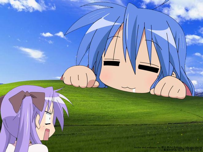 lucky star wallpaper. Tags: lucky star wallpaper