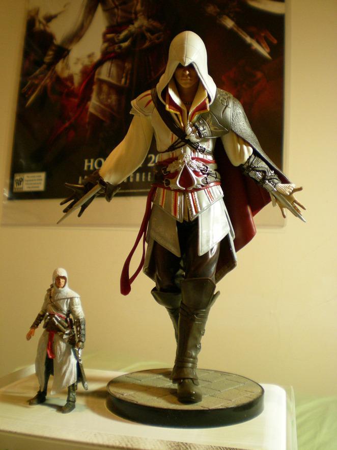 Altair & Ezio comparison