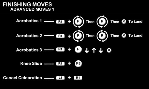 Finishing Moves - Advanced Moves 1