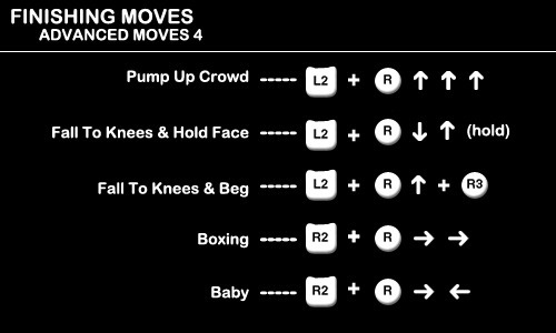 Finishing Moves - Advanced Moves 4
