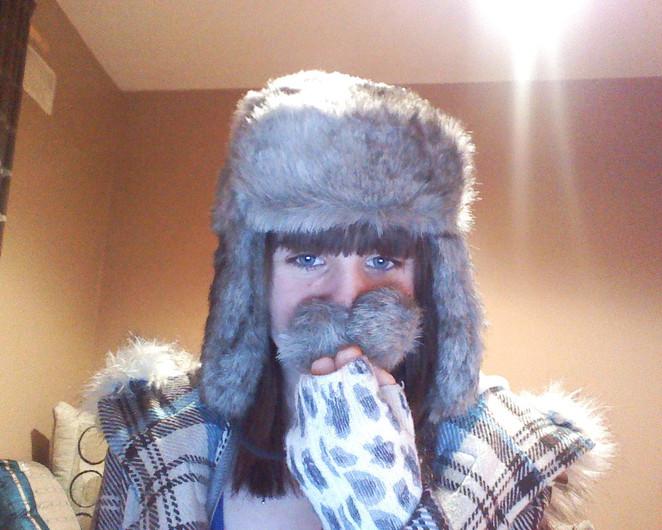 I has mustache hat. :3