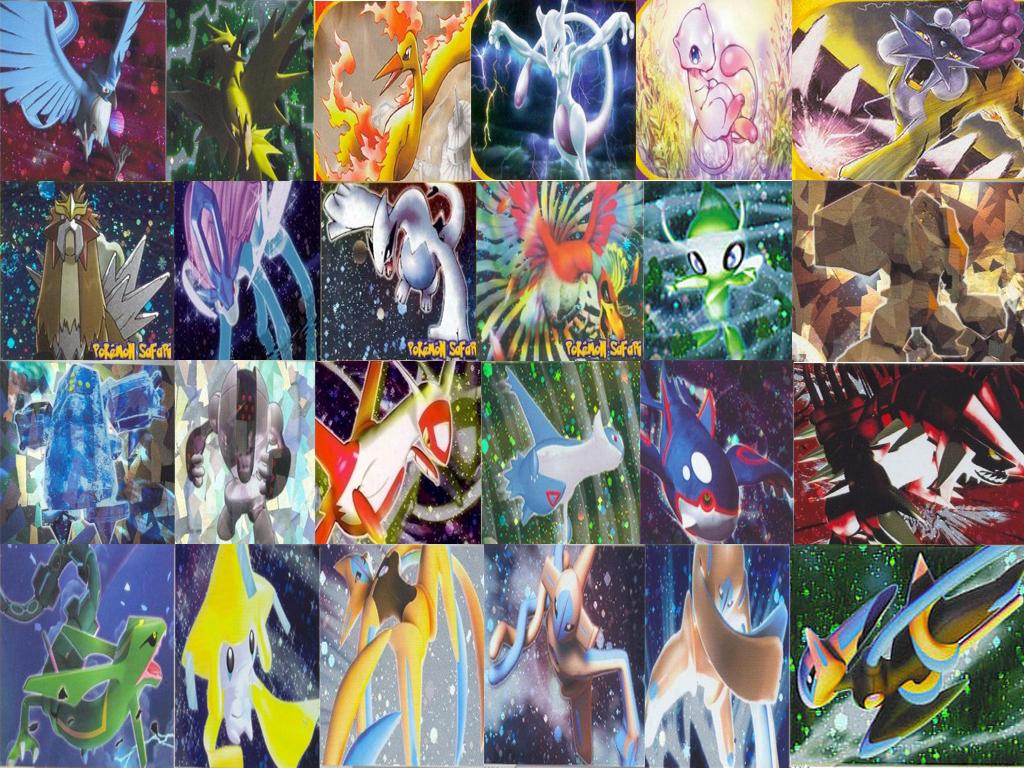 Legendary Pokemon Wallpaper By Sonic711 Jpg From