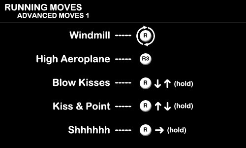 Running Moves - Advanced Moves 1