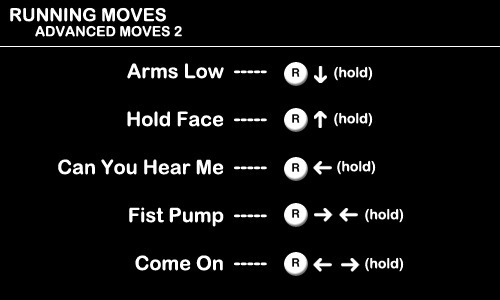 Running Moves - Advanced Moves 2