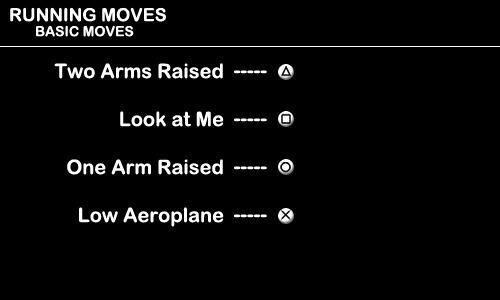 Running Moves - Basic Moves