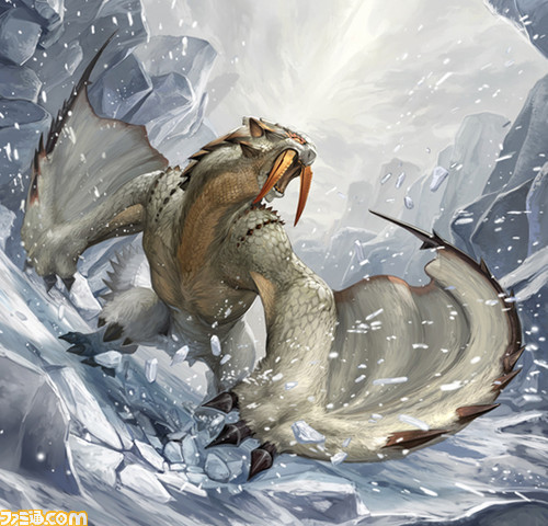 ice wyvern of the snow from mhdude hosted by neoseeker