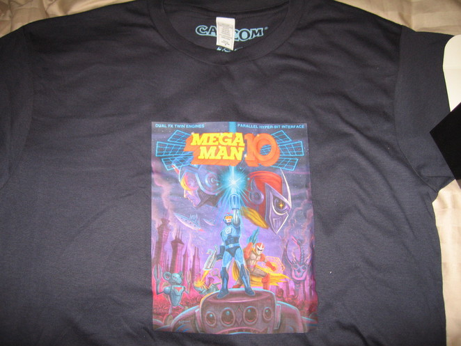Mega Man 10 shirt. :3