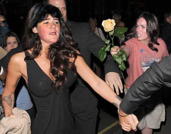 Megan Fox denied by sweet child