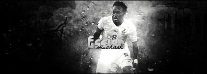 Michael Essien - Ghana - Black and White
